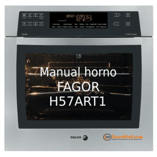 Manual pdf horno Fagor H57ART1